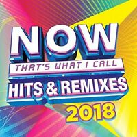 VARIOUS-NOW HITS & REMIXES 2018  (US IMPORT)  CD NEW