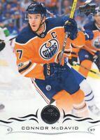 2018-19 Upper Deck Hockey #75 Connor McDavid Edmonton Oilers