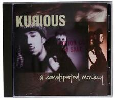 KURIOUS Constipated Monkey 1994 CD PROMO OOP 90s Jazzy Hip-Hop NYC RAP Beatnuts