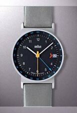 BRAUN ― Made in Germany ― Ø 33mm ― 3814 ― AW24 AW 24 ― GMT ― Wristwatch ― BLACK