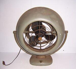 Vintage Mid Century Large Vornado Electric 3 Speed Fan No. 9A 1867 WORKS