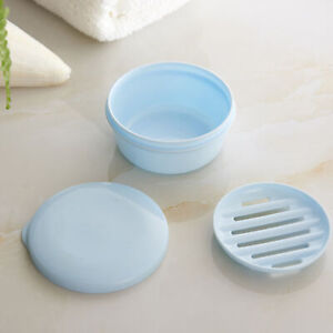 Mini Travel Soap Dish Box Case Holder Container Wash Shower Home Bathroom Useful