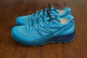 Salomon Womens Vibe Sense Ride Trail Running Shoes Sneakers 398477 37 1/3