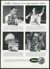 1958 Marcel Grandjany photo Carmen Dragon Willian Steinberg Capitol print ad