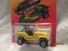 ROLL PATROL JEEP YELLOW Hot Wheels HOT ONES jeep CJ YJ  custom  2011
