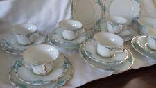 ART NOUVEAU Jaeger Marktredwitz (J&C) Bavarian porcelain  tea set 1890-1923
