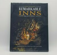 Remarkable Inns & Their Drinks a Dungeons and Dragons 5e Supplement Hard Cover!