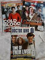 3 issues Dr Who #404 429 Dr Who Insider Winter 2012 lot David Tennant Matt Smith