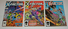 X-FACTOR #1, #2, #3, First Series 1985 VF 8.0 *1st Double Sized Issue! X-MEN