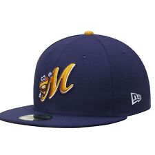 Montgomery Biscuits New Era Authentic Home 59FIFTY Fitted Hat - Navy