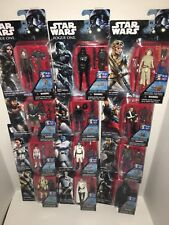 Lots of 12 STAR WARS Mini figurines with accessories