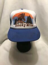 Vintage Great Smoky Mountains Bear Snapback Hat Cap