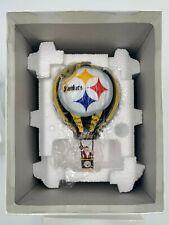 Danbury Mint 2003 Pittsburgh Steelers Nfl Victory Balloon Ornament In Box ~ Mint