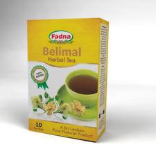 FADNA Ayurvedic Belimal Herbal Tea 10 Tea Bags x 04 packs