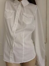 Size 10 White Benetton womens shirt bought for £40