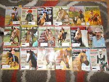 180Horse & Rider/ Western Horseman Magazine Back issues 2003-2011 TOM SELLECK