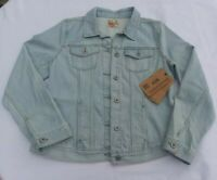 NWT $84   Ruff Hewn   Denim Jean Jacket   Light Blue Denim   Size Medium  