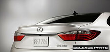 Lexus ES350 ES300H (2013-2018) OEM TRUNK LIP SPOILER (Obsidian Black) (212)
