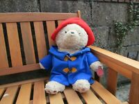 Paddington bear teddy - with hand tag - large approx 22 inches tall