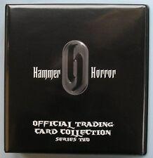 Hammer Horror Series 2 Trading Card Binder, Base Set + Chase Set + Binder Pages