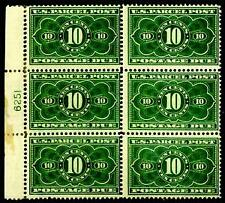 [CERT] US #JQ4 MH Plate Block of 6 CV$7500.00
