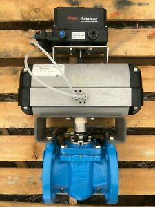 """Flowserve Durco Control Valve 3"""" 150# with Flowserve Actuator and Positioner"""