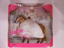 Barbie Winter Ride Gift Set, Barbie with Horse 1998 # 19850 NRFB NEW