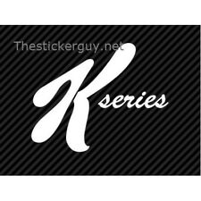K Series (Special K) JDM Import Racing sticker decal k20a k20a2 k24
