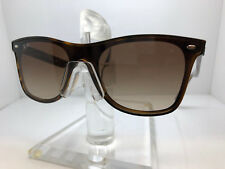 AUTHENTIC RAY BAN SUNGLASSES RB4440N 710/13 LIGHT HAVANA/BROWN GRADIENT LENS