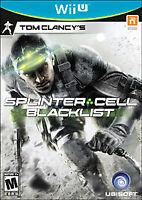 Tom Clancy's Splinter Cell: Blacklist - Nintendo Wii U WiiU