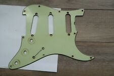 '59 10 hole Fender Stratocaster Pickguard Mint Green 1959 Strat USA AVRI Reissue