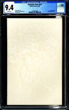 FANTASTIC FOUR #371 (1992 Marvel) CGC 9.4 NM WHITE EMBOSSED COVER