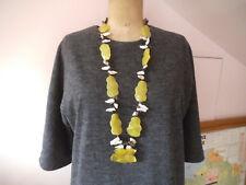 Magnifique collier en pierre naturelle old necklace