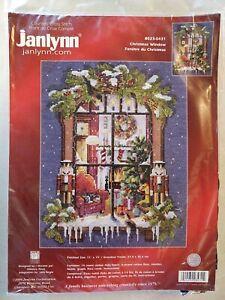 Lot203 Janlynn Christmas Window Cross Stitch Kit