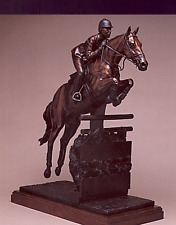 "Ramon Parmenter      ""The Jump Off""     Bronze Sculpture"