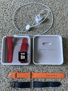 42MM HERMES APPLE WATCH SERIES 3 GPS CELLULAR SPORT
