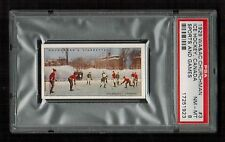 PSA 8 1929 ICE HOCKEY CARD Churchman Tobacco Sports and Games #3