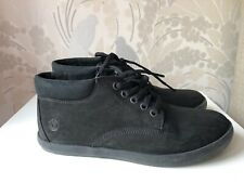 Timberland Black Dausette Low Chukka Nubuck Leather Boots Size UK 6.5 Cost £110