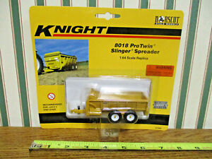 Knight 8018 Protwin Slinger Spreader By Norscot 1/64th Scale