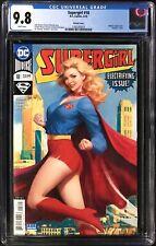 "Supergirl (2018) #18 CGC 9.8 Stanley ""Artgerm"" Lau Vintage Variant Cover!"