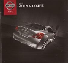 2013 13  Nissan Altima Coupe  original sales brochure