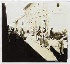 Moyen-Orient Syrie Photo Stereo Th1n22 Plaque de verre Vintage c1920