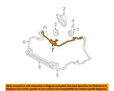 FORD OEM-Power Steering Pressure Hose 2F1Z3A719CB