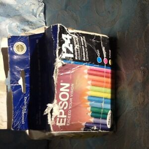 EPSON 124 COLORED INK CARTRIDGES
