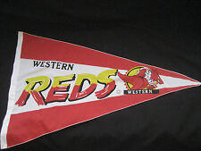 ARL WESTERN REDS PENNANT 900mm x 490mm - NEW!