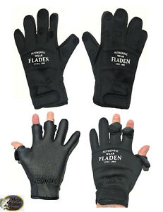 Fladen Fishing Neopren Angel Handschuhe - Thermo Outdoor Anglerhandschuhe Angeln