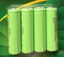4 X AA Rechargeable Solar Power Batteries  1.2V 300mah NI-MH garden solar lights