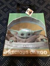 Mandalorian Precious Cargo The Child Reusable Tote GROCERY Bag Star Wars NEW