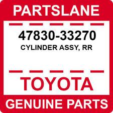47830-33270 Toyota OEM Genuine CYLINDER ASSY, RR