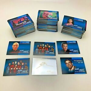 Star Trek The Next Generation Impel 1992 Trading Cards | 400+ | Holo & Foreign